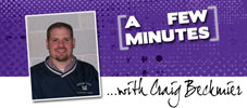 A Few Minutes with Craig Beckmier